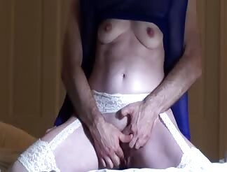 Shy sexy wife has very intense loud orgasm on sextape