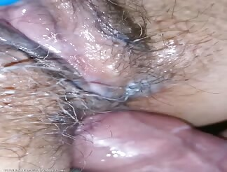 Wife fucked in her ass in closeup