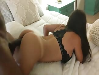 Fat black cock for this sexy slut