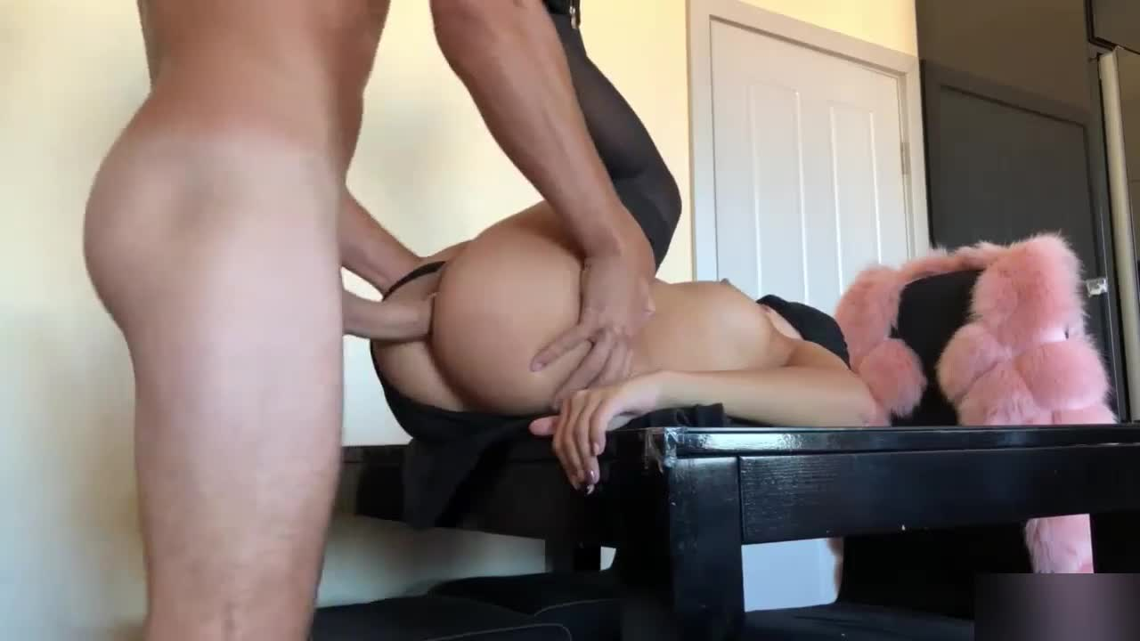 Assfucking Porn Tube assfucking his hot and sexy blindfolded girlfriend at