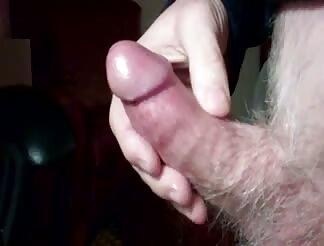 A heavy load after masturbating to porno