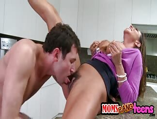 He manages to fuck both his broad and her stepmom
