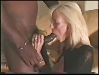 Classy mature broad becomes a dark dick slave