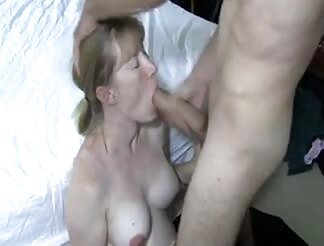 Milf bitch waiting for a facial