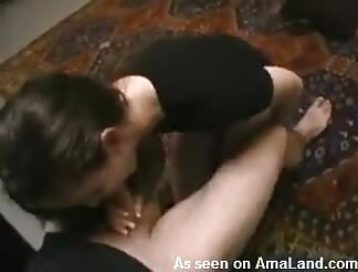 wild brown hairy blows monstrous dick