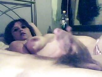 Curvy GF likes massive cock